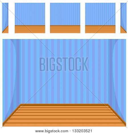 seamless Empty room background, vector set 7 in vector