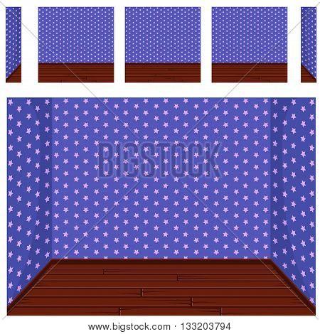 seamless Empty room background, vector set 8 in vector