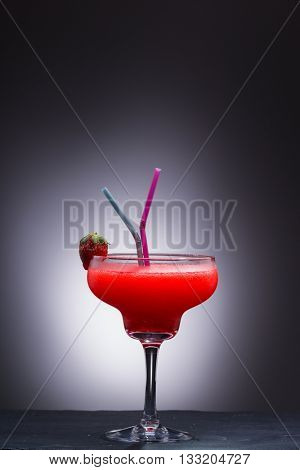 Frozen strawberry Daiquiri cocktail