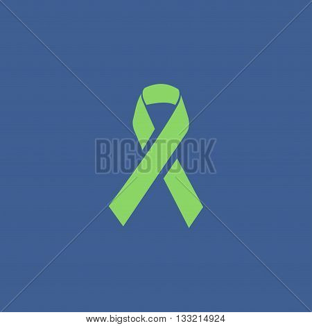 Vector Aids Awareness Ribbon Sign Or Icon