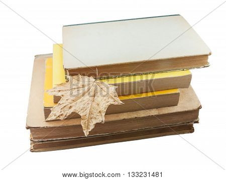 old paper books unfortunately are less necessary and something are similar to this dried leaf