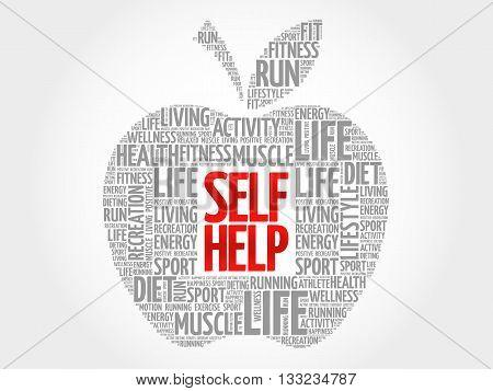 Self Help Apple Word Cloud