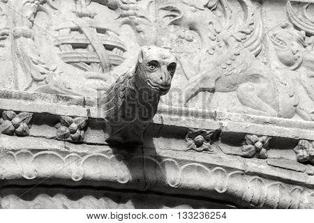 GARGOYLES OF THE MONASTERY OF THE HYÉRONYMITES, LISBON, PORTUGAL