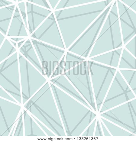 Abstract light blue background with big lines stripes, abstract connection net concept.