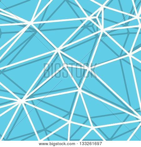 Abstract Blue Background with big Lines Stripes, Abstract Connection Net Concept.