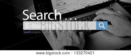 E-Business Commerce Marketing Business Concept