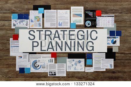 Strategic Planning Management Organization Concept