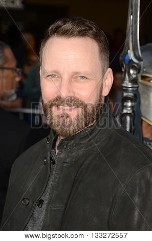 LOS ANGELES - JUN 6:  Ryan Robbins at the Warcraft Global Premiere at TCL Chinese Theater IMAX on June 6, 2016 in Los Angeles, CA