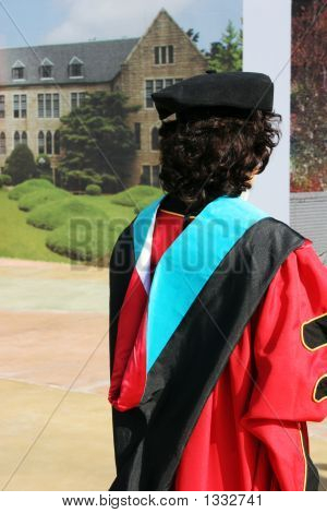 Graduate In Gowns