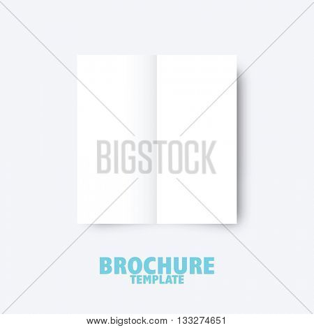 Brochure business template for publishing, presentation. Design graphic elements