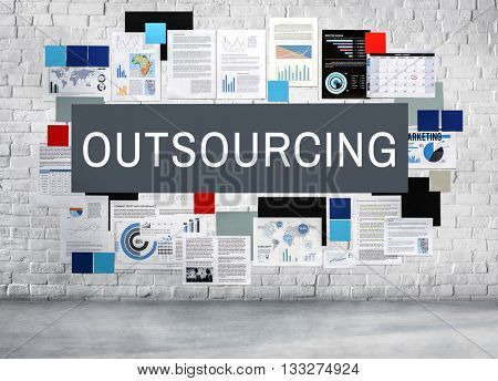 Outsourcing Subcontract Supplier Contract Concept