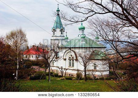 Catholic Orthodox Church  In Hakodate, Japan
