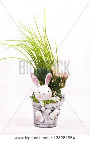A rabbit decoration for the Easter Holiday