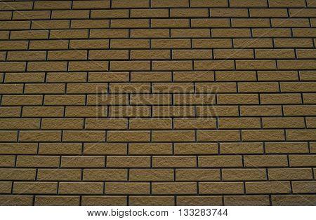 Background texture of a brick wall grungy horizontal masonry