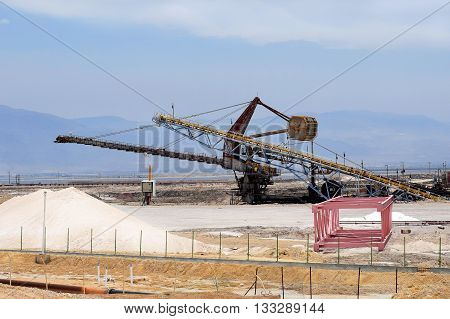 plant for the production of mineral fertilizers and magnesium on the Dead Sea in Israel