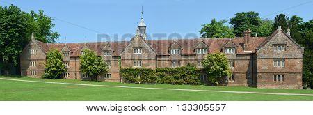 Saffron Walden, Essex, England - June 05, 2016: The Stable building Audley End House Essex England.