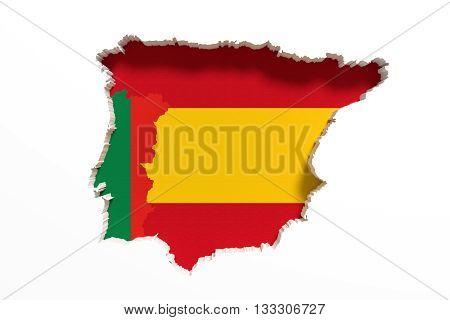 Iberian Peninsula Map