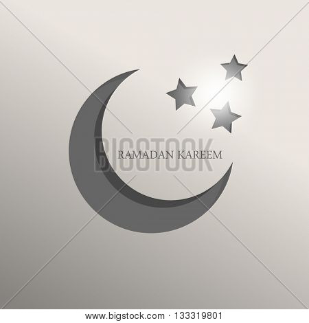 ramadan kareem flat graphic design eps10 vector