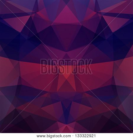 Background Of Geometric Shapes. Colorful Mosaic Pattern. Vector Eps 10. Vector Illustration. Dark Pu
