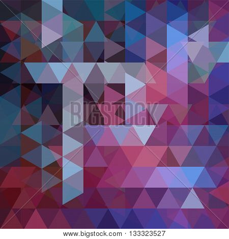 Abstract Geometric Style Purple Background. Purple Business Background Vector Illustration