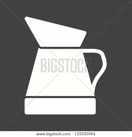 Oil, jug, engine icon vector image. Can also be used for car servicing. Suitable for use on web apps, mobile apps and print media.