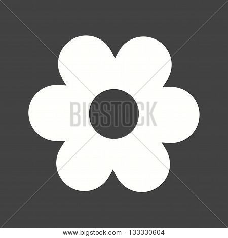 Daisy, flower, petals icon vector image. Can also be used for seasons. Suitable for use on web apps, mobile apps and print media