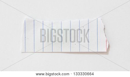 Piece of torn paper, Ripped paper, space for copy