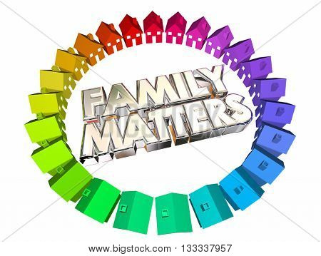 Family Matters People Relatives Relationships 3d Illustration.jpg