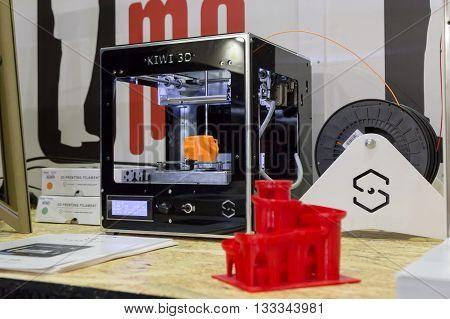 3D Printer At Technology Hub In Milan, Italy