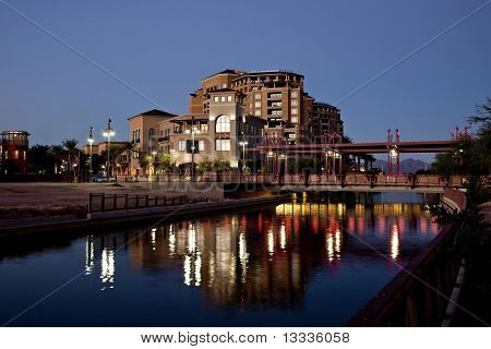 Scottsdale Arizona Waterfront District