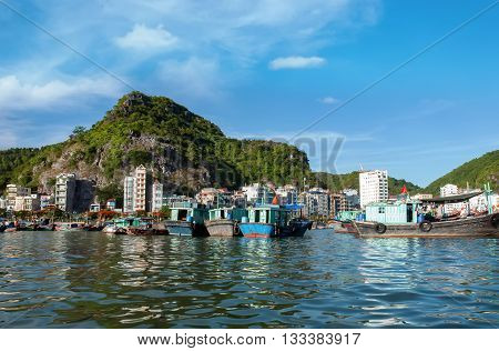 Bay Cat Ba, Hai Phong City, Vietnam