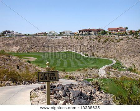 Golfing in Vegas