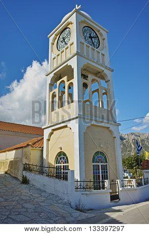 Old orthodox church in Agios Petros village, Lefkada, Ionian Islands, Greece