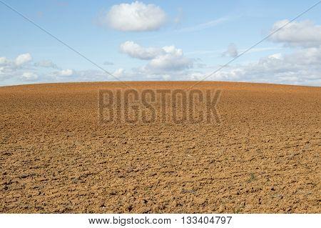 Blue and brown in Soria, Castilla Leon, Spain