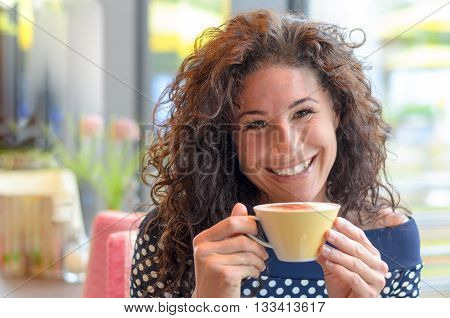 Charming Young Woman With A Lovely Smile