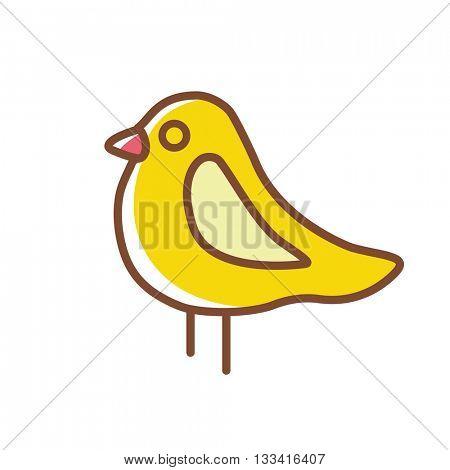 Bird icon.Vector