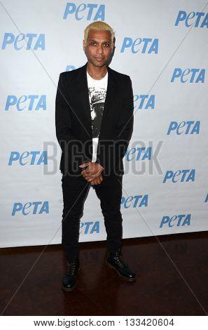 LOS ANGELES - JUN 7:  Tony Kanal at the Peta Celebrates Prince on his Birthday at the Peta's Bob Barker Building on June 7, 2016 in Los Angeles, CA