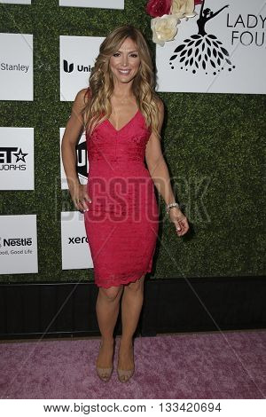 LOS ANGELES - JUN 4:  Debbie Matenopoulos at the Girl Flu Premiere at the Arclight Theater on June 4, 2016 in Culver City, CA