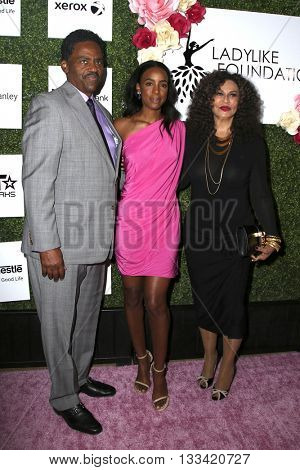 LOS ANGELES - JUN 4:  Richard Lawson, Kelly Rowland, Tina Knowles at the Girl Flu Premiere at the Arclight Theater on June 4, 2016 in Culver City, CA