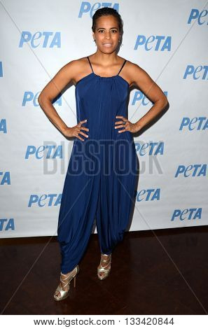 LOS ANGELES - JUN 7:  Daphne Wayans at the Peta Celebrates Prince on his Birthday at the Peta's Bob Barker Building on June 7, 2016 in Los Angeles, CA