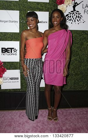 LOS ANGELES - JUN 4:  Keke Palmer, Kelly Rowland at the Girl Flu Premiere at the Arclight Theater on June 4, 2016 in Culver City, CA