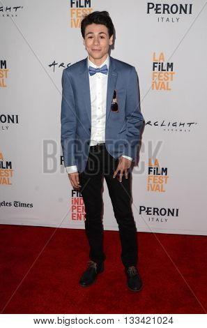 LOS ANGELES - JUN 6:  Diego Josef at the Girl Flu Premiere at the Arclight Theater on June 6, 2016 in Culver City, CA