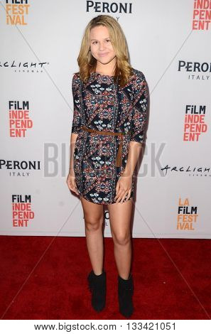 LOS ANGELES - JUN 6:  Isabella Acres at the Girl Flu Premiere at the Arclight Theater on June 6, 2016 in Culver City, CA