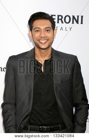 LOS ANGELES - JUN 7:  Abhi Sinha at the 2016 Los Angeles Film Festival - The Conjuring 2 Premiere at TCL Chinese Theater IMAX on June 7, 2016 in Los Angeles, CA