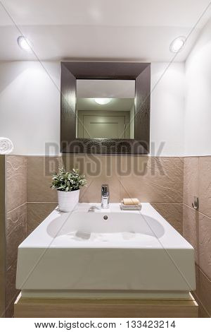 Beauty And Functionality In Bathroom