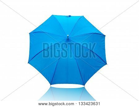 umbrella color isolated on white background .