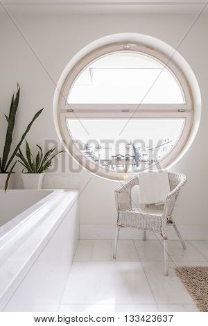 Light Bathroom With Window