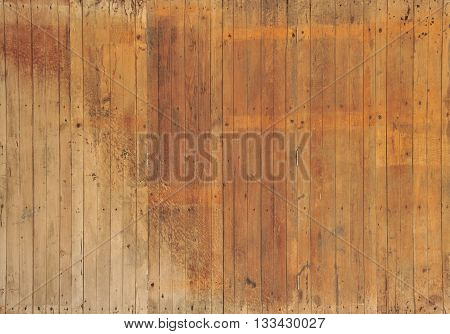 Wooden walls with wood surface Look and feel of the quaint and beautiful.