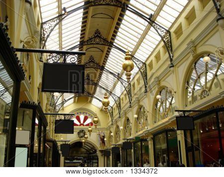 Historic Shopping Arcade