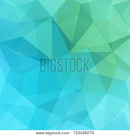 Abstract Mosaic Background. Triangle Geometric Background. Design Elements. Vector Illustration. Gre